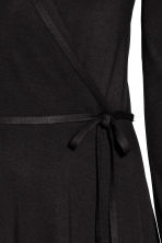 Wrap dress - Black - Ladies | H&M 3